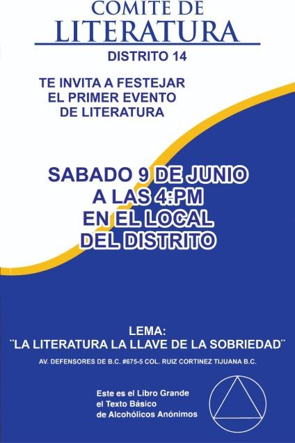 1er Evento de Literatura