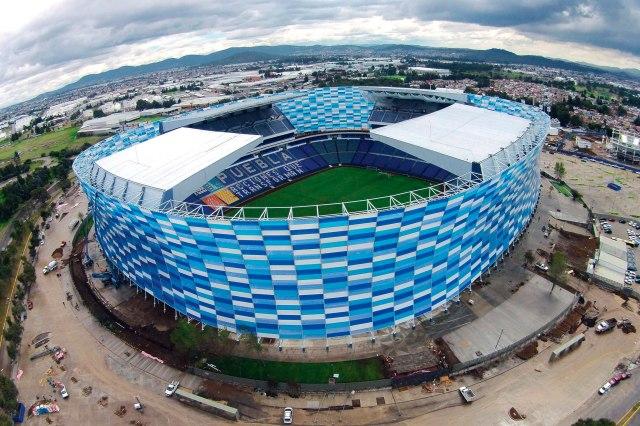 El Estadio Cuahutémoc