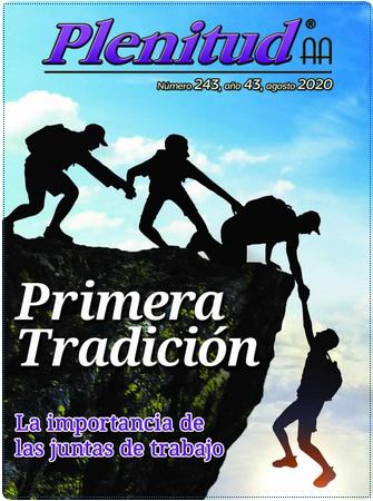 Revista Plenitud - Portada Agosto 2020
